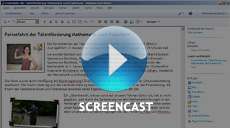 Screencast Windows Live Writer im Joomla! Einsatz